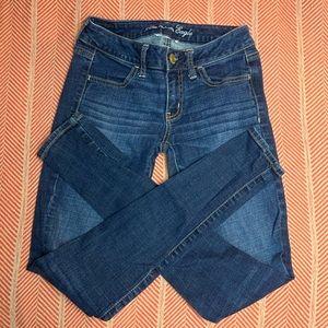 American Eagle Jeans Super stretch Jegging 2 Long